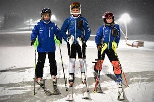 Tilde Höglund, Indra Finn-Rombo och Hilda Berg är några av klubbens unga talanger.