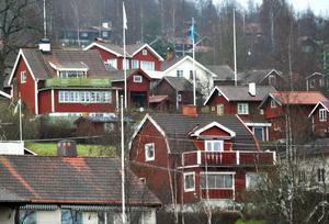 Villor i Lerdal i Rättvik.