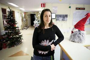 Anette Bornhov, enhetschef på akutmottagningen, konstaterar att ishalkan inte ledde till fler frakturer än under en vanlig julhelg. Men trycket blev ändå hårt på annandagen.