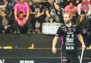 Johannes Larsson tvingades avbryta matchen mot AIK efter drygt halva den första perioden.