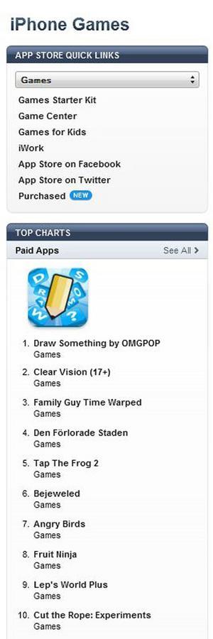 I tisdags släpptes Clear Vision på Appstore.