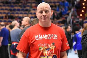 Tävlingsledaren Anders Morsing.