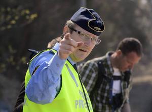 Mikael Ahrtzing, informatör på polisen i Västernorrland.