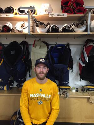 Mattias Ekholm, Nashvilles nummer 14, är en av NHL:s bästa backar i dagsläget.