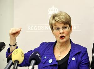 Maud Olofsson har trätt in på manliga domäner och fått det hett om öronen från en del håll.