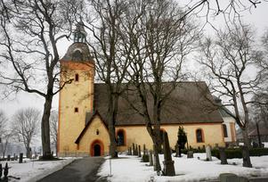 Ösmo kyrka.