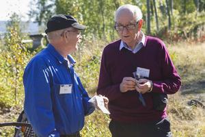 Koboltgruvan har betytt mycket för Bosse Nilsson och geologen Thomas Lundqvist.