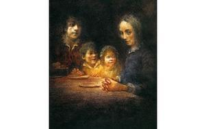 Bildillustration från Charles Dickens En julsaga och en julgran. Foto: Robert Inpren (Dickens)