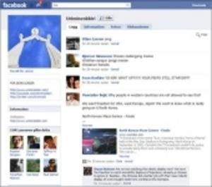 Nu finns Kim på Facebook också
