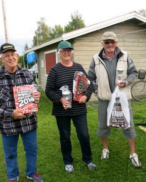 Trea blev Lit-Häggenås 2 med John Johansson, Inger Lööf och Gunnar Lööf.   Foto: Lisa Norrman