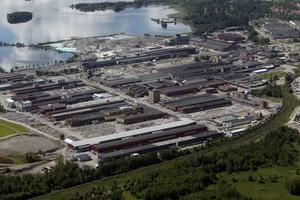 Cirka 70 jobb ska bantas bort inom Sandviks rördivision. Men det är än så länge oklart hur många som berörs i Sandviken. Foto: Lasse Halvarsson.