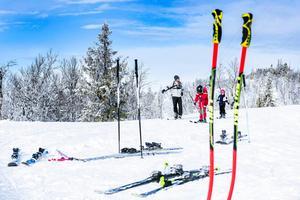 När olyckan är framme i skidbackarna i Lofsdalen under vintern finns läkare och sjuksköterska på plats.Foto: William Stenvall-Zetterström