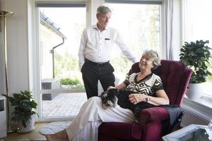 Margareta och Lars Nordström har hållit ihop sedan de var tonåringar – i somras byggde de hus på stugtomten de spenderat varje sommar på under i princip hela deras liv.