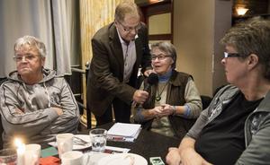 Runa Forsman från nätverket Vileda efterlyste mer stöd till frivilligorganisationerna.