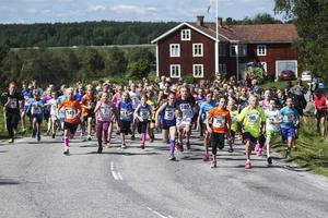 Återigen ett stort deltagarantal när Jättendal arrangerade Jordgubbsloppet.