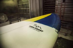 En surfbräda tar ungefär från en vecka att göra.