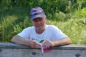 Ture Lindberg var först med idén att sätta ut gräskarp.