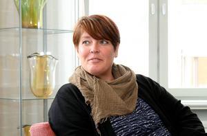 Kommunstyrelsens ordförande Carina Blank bemötte kritiken från idrottsföreningarna under onsdagen.