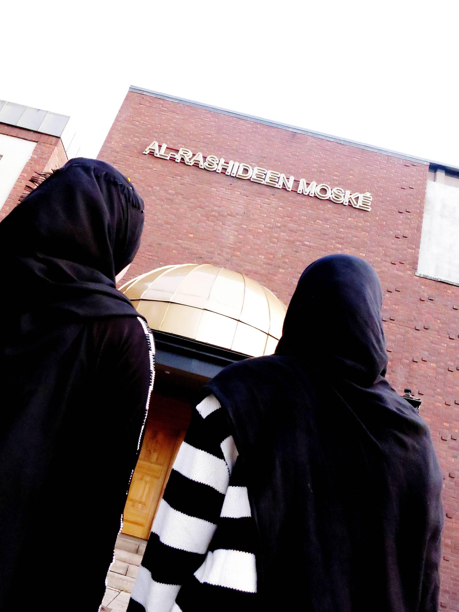 Moske for kvinnor slar upp portarna