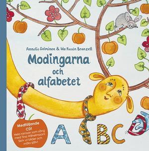Boken. Annelie Salminen har skrivit texten till alfabetsramsan och Ida Rosén Branzell, från Ramnäs, har gjort teckningarna.