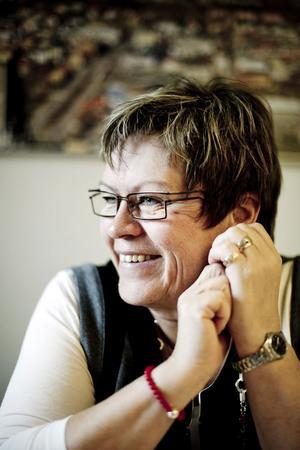 Kommunens mest profilerade politiker kommunalråd Elvy Söderström ser det nya skatteutjämningssystemet som en stor politisk framgång.