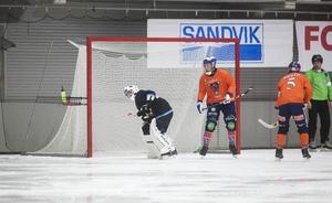 Niklas Prytz släppte bara in ett mål i sin första match i World Cup – men Bollnäs föll ändå.