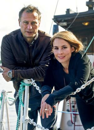 Michael Nyquist och Noomi Rapace var filmdukens Mikael Blomqvist och Lisbeth Salander när Millennium-trilogin blev svensk film.