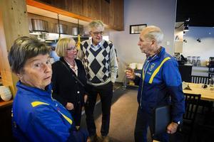 Beröm östes över Järvsö IF:s ordförande Olle Arvidsson, som guidat många unga idrottare under sina dagar.