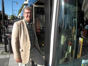 Ny på sin post. Tommy Levinsson, ny ordförande i kollektivtrafikmyndigheten.foto: Yngve fredriksson