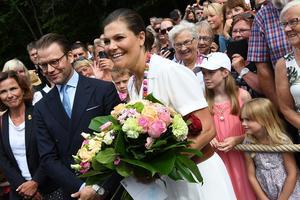 Prins Daniel och Kronprinsessan Victoria vid förra årets födelsedag på  Solliden. 73decd67d6b47