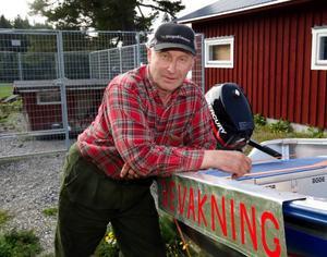 Vi har regler som är till för att följas, säger ordförande i fiskevårdsföreningen, Jan Engstedt, från Landön.