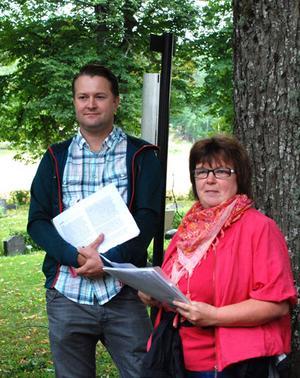 Gunilla Åkesson och Anders Lindberg.