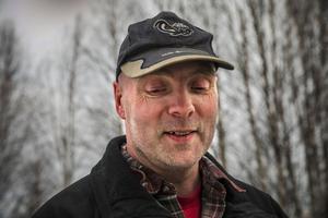 Anders Holmqvist är en av de drivande i folkraceteamet i Sikås.