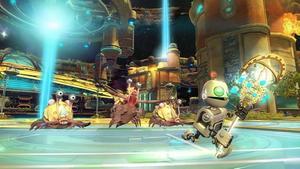 Clank får förmågan att manipulera tiden, vilket är praktiskt eftersom det nya spelet hoppar mellan olika tidpunkter.