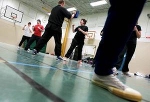 Precis som i all annan kampsport är fotarbetet viktig del av utövandet.