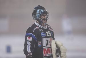 Kimmo Kyllönen, här i Kungälvströjan. Han värvades till Tellus inför den här säsongen.