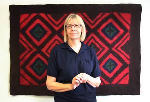 Maria Spansk Mc Grail är en av två kuratorer vid Asyl- och Migranthälsan i Gävleborgs län.