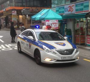 Det tog ett dygn innan den första polisbilen dök upp. Seoul är en av världens säkraste städer att vistas i.