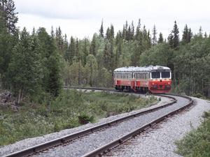 Inlandsbanan går genom Fågelsjö i Ljusdals kommun.