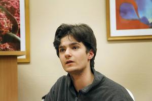 Efter gymnasiet vill Elias Daoud läsa psykologi, teknik eller något som har med datorer att göra.