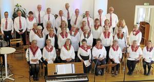 Sång- och musikgruppen Ruijan Haarat från Bingsjö har bjudit på en kärleksfull vårkonsert i Rättviks Missionskyrka.