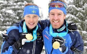 VM i skidorientering blev mycket lyckat för Borlängeborna Tove Alexandersson och Peter Arnesson. FOTO: SKOGSSPORT/SVENSKA ORIENTERINGSFÖRBUNDET