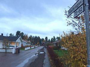 Bostäder på Prästkragsvägen i Falun har ett snittpris på över 4,2 miljoner kronor.