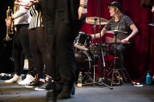 Ebba Wigren ägde trummorna och satte takten på hemmaplan i Sundsvall.