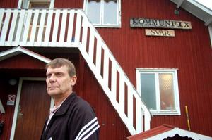 Ulf Eriksson, handledare på Kommunfix i Strömsund, säger att de har tvingats köpa in många nya saker efter sommarens inbrott. Foto: Jonas Ottosson