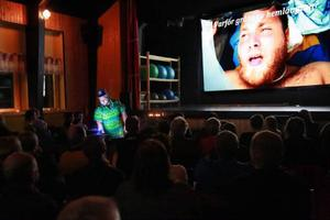 Det var fullsatt när Viktor Matsson hade sitt första föredrag då han berättade om sin atlantrodd.