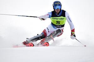 Marc Rochat segrade i Euroåacupen på Fjätervålen.