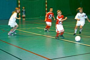 Kåbemattan-cup har startat. I lördags morse spelade Laxå IF mot Lekebergs IF i grupp PF 02-03. BILD: TOVE SVENSSON