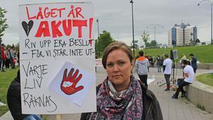Emma Rydén är medlem i Vi står inte ut, en rörelse som engagerar sig i gruppen asylsökande ensamkommande barn och ungdomar.