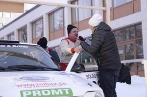 Veteranen Mats Jonsson blev tvåa.